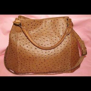 G.I.L.I ostrich purse